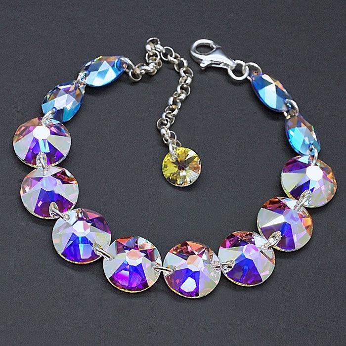 Diamond Sky 925 Sterling Silver Bracelet Grace III
