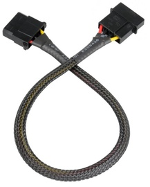 Akasa Cable Molex / Molex 0.3m Black