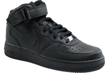 Nike Sneakers Air Force 1 Mid 07 315123-001 Black 42.5