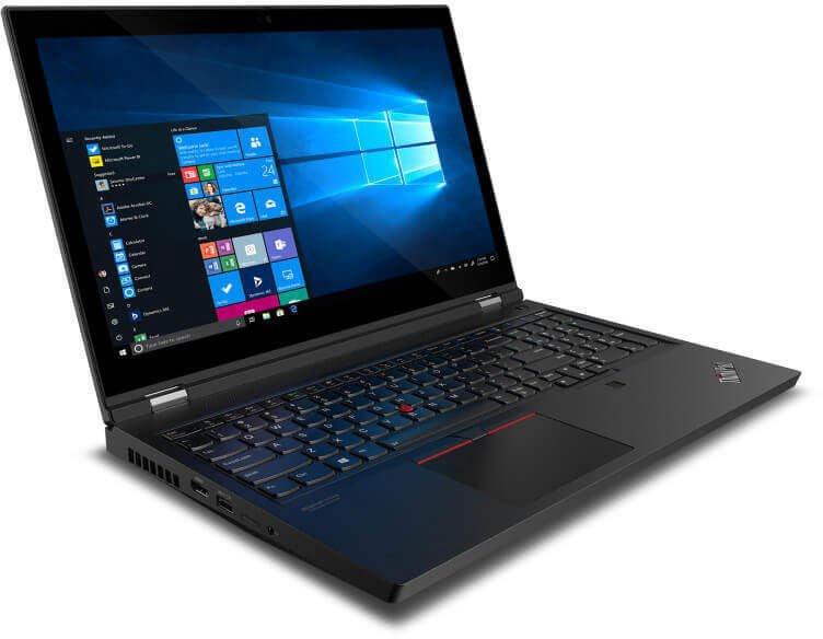 "Nešiojamas kompiuteris Lenovo ThinkPad P15 Gen1 Black 20ST0064MH PL Intel® Core™ i7, 16GB/512GB, 15.6"""