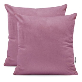 DecoKing Amber Pillowcase Plum 50x50 2pcs