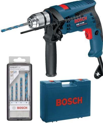 Triecienurbjmašīna Bosch GSB 13 RE, 600W