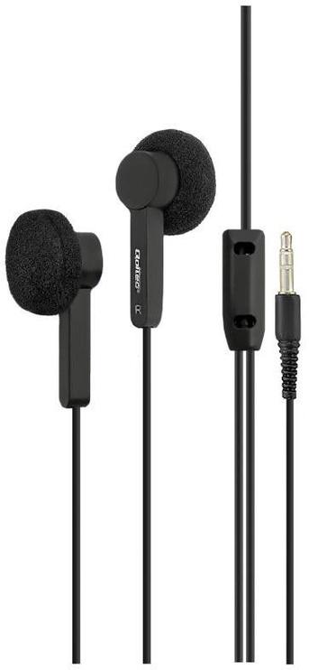 Ausinės Qoltec Earphones Black 50809