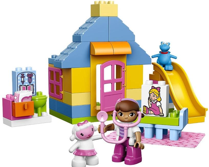Конструктор LEGO Duplo Doc McStuffins Backyard Clinic 10606, 39 шт.
