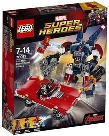 Конструктор LEGO Super Heroes Iron Man Detroit Steel Strikes 76077 76077, 377 шт.