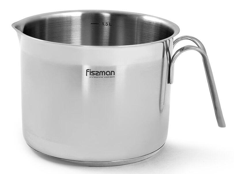 Fissman Milk Pot 1.5l Stainless Steel