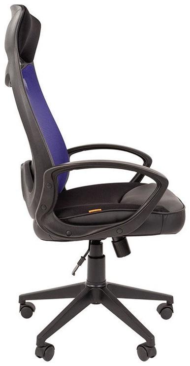 Офисный стул Chairman 840 TW-05, синий/черный