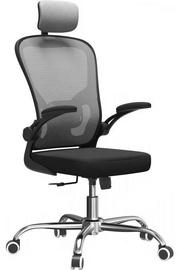 Офисный стул Top E Shop Dory, черный/серый