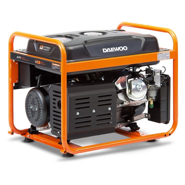 Генератор Daewoo GDA 7500E-3, 6000 Вт