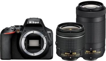 Nikon D3500 + AF-P 18–55 + AF-P DX 70–300