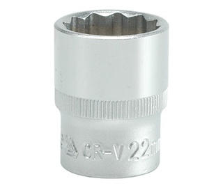 Yato YT-1284 1/2'' Bi-hexagonal Socket 22mm