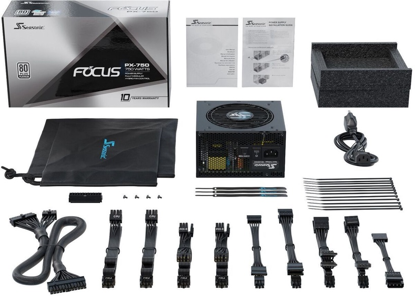 Seasonic FOCUS PX PSU 750W