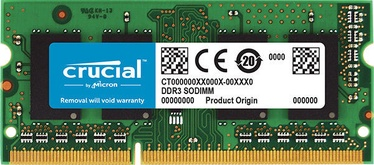 Crucial 4GB 1333MHz CL9 DDR3L SODIMM for Mac CT4G3S1339M