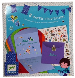 Djeco Invintation Cards for Boys 8pcs
