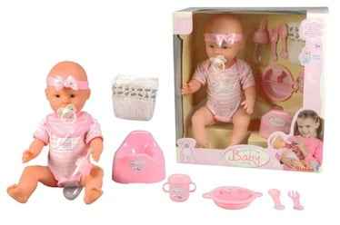 Simba New Born Baby Doll 105039005 Pink
