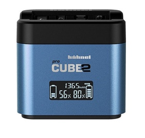 Hähnel ProCube 2 Charger For Fuji/Panasonic Blue
