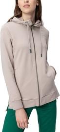 Audimas Lengthened Stretch Cotton Jacket Beige S