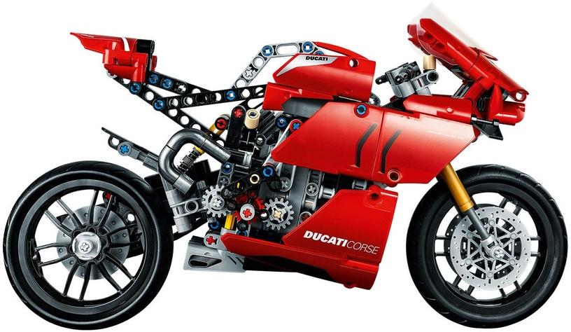 Конструктор LEGO Technic Ducati Panigale V4 R 42107 42107, 646 шт.