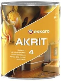 Краска Эскаро Акрит 4, белая (А) 2,85л