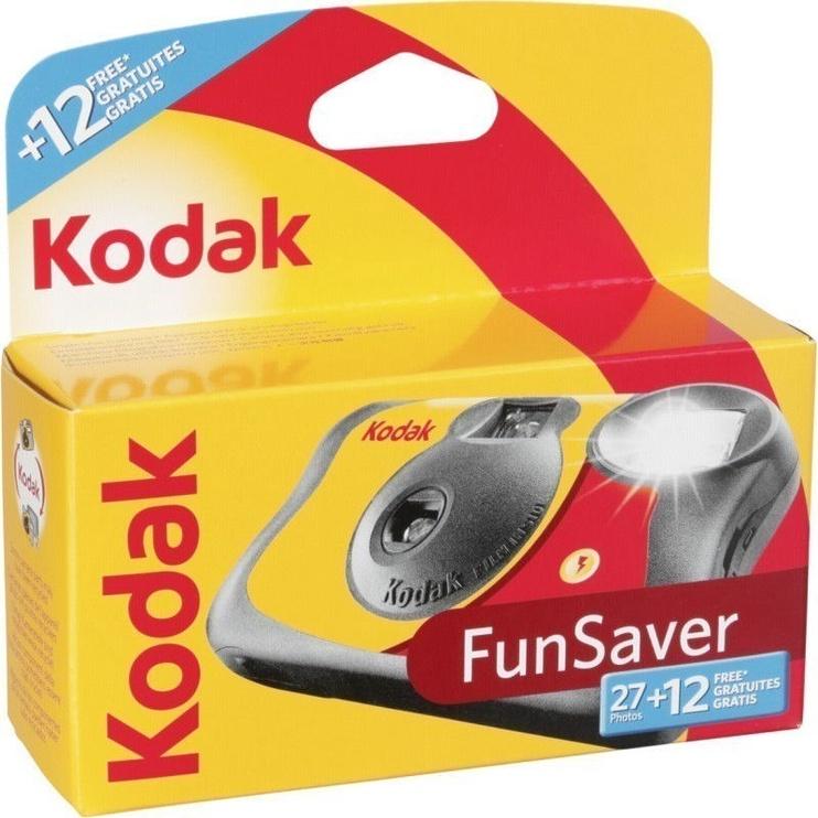 Kodak Disposable Camera Fun Saver Flash 27+12