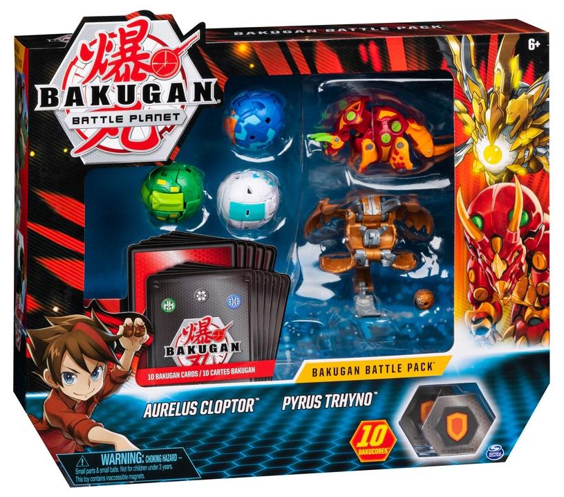 Žaislinė figūrėlė Spin Master Bakugan Battle Pack Aurelus Cloptor