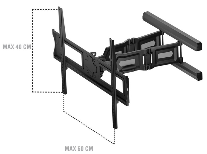 "Sonorous Universal Wall Bracket 40-65"" Black"