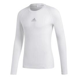 Adidas Alphaskin Sport Long Sleeve Top CW9487 White XL