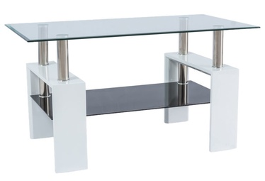 Signal Meble Lisa III Coffee Table 110x60cm White