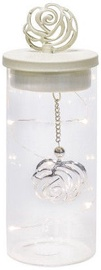 Home4youLED-Latern Glow D8xH21cm White 79997