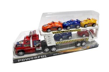 Žaislas vilkikas su mašinėlėmis 501635239, 3 m
