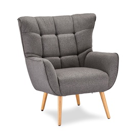 Home4you Puk Armchair Grey
