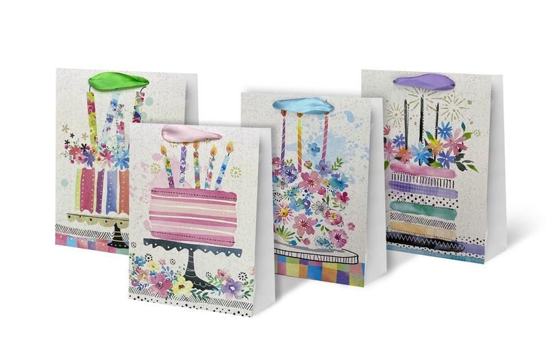 Paper Gift Bag 26x10x32cm SCW230-ABCD-M