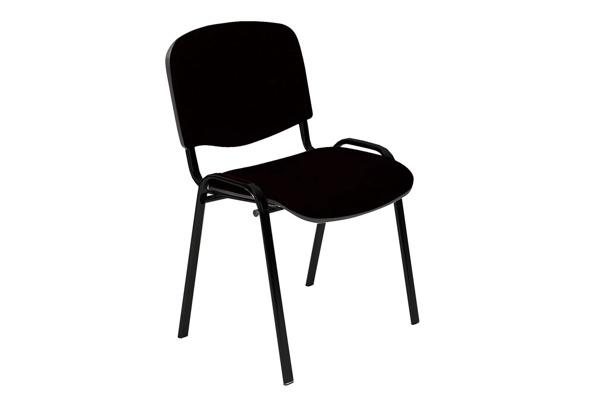 Apmeklētāju krēsls Home4you Iso Black 633040