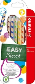 Stabilo Easy Colors Left Handed Pencils 6pcs