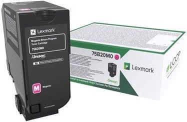 Тонер Lexmark 10K Magenta Return Program Toner Cartridge 75B20M0