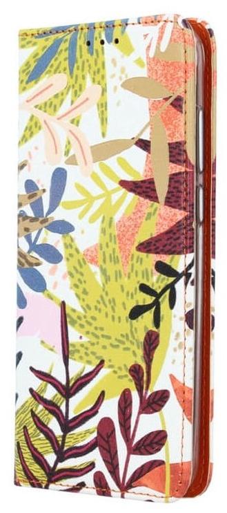 Mocco Smart Trendy Book Case For Xiaomi Redmi Note 5 Pro Leaf