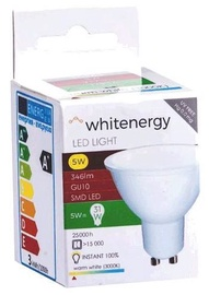 Whitenergy LED Bulb GU10 5W Milky