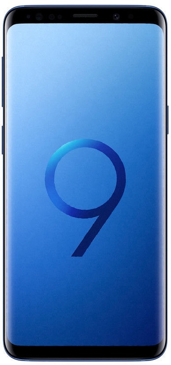 Samsung SM-G965F Galaxy S9 Plus 64 GB Dual Coral Blue