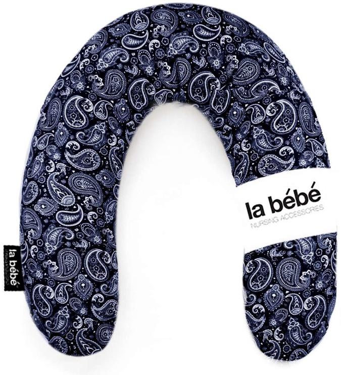 La Bebe Rich Cotton Nursing Maternity Pillow 30x104cm Eastern Mod Dark Blue 111353