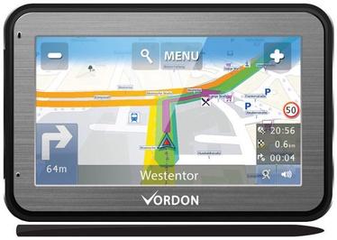 Vordon GPS Navigation 4.5'' Aluminium
