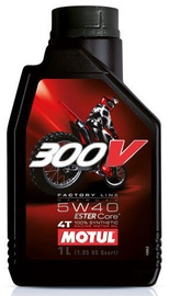 Motul 300V 4T FL Off Road 5W40 Motor Oil 1l