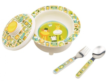 Sugar Booger Covered Suction Bowl Set It's A Jungle