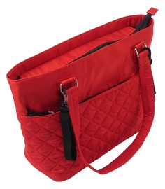 Summer Infant Changing Bag Quilted Tote Bag Red