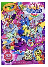 Crayola Unicreatures Colouring Book 04-0542C