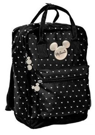 Paso Minnie I School Backpack w/ Pencil Case Black