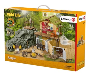 Schleich Croco Jungle Research Station 42350