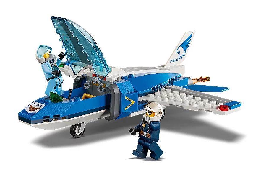 LEGO City Police Sky Police Parachute Arrest 60208 - Krauta.ee