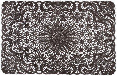 Home4you Lace 30x45cm Brown