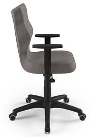Офисный стул Entelo Duo AL02, коричневый/черный