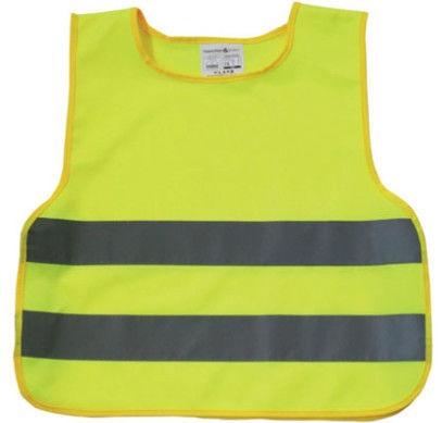AutoDuals Reflective Vest for Kids Yellow XXS